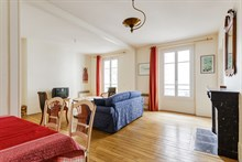 Turn-key apartment rental w/ 2 rooms L'Asile Popincourt Paris 11th