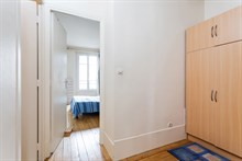 Fully furnished 2 room flat with fully equipped kitchen, L'Asile Popincourt Paris 11th
