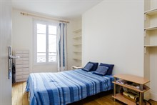 Live like a Parisian in 2 room apartment for short-term rental near Bastille Paris 11th