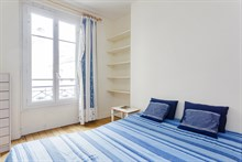Monthly apartment rental for 4 guests with two bedrooms, Bastille, Paris 11th