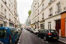 Short-stay flat rental for 4 guests with 2 rooms, Paris 11th district