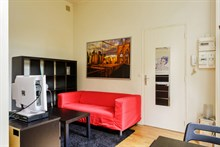 2-person studio apartment for short-term stays near Invalides, Paris 7th