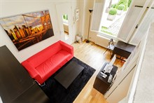 Lodging for 2 guests in center of Paris 7th district, recently remodeled studio