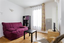 Luxurious 1-bedroom apartment in Paris 15th, near Saint-Germain-des-Prés