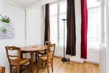 Affordable furnished studio apartment rental for 2 near Tuileries, Paris 1st
