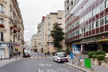 Modern, furnished large apartment in Paris 15th studio arrondissement near Eiffel Tower