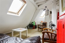 Monthly rental of a fully equipped 2-room apartment at Gare du Nord Paris 9th, 2 person