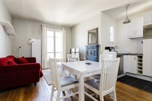 Spacious 1-bedroom, 1-bathroom apartment near André Citroën in Paris 15th, short-term stays