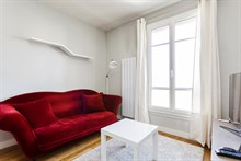 Distinctive 1-bedroom flat for 2 or 4 guests across from André Citroën metro Paris 15th, short-term