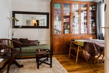 Luxurious 1-bedroom apartment with garden in Paris 16th, Village d'Auteuil