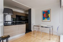 Monthly apartment rental for 2 guests with one bedroom, Nation, Paris 12th