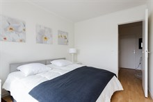 Full Parisian Experience in 6-month rental on rue Pierre Bourdan, fully furnished with terrace Paris 12th