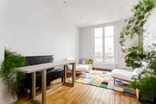 Spacious 1-bedroom, 1-bathroom apartment near Montparnasse Tower in Paris 15th, short-term stays