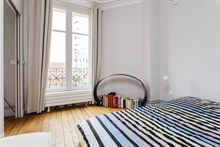 Distinctive 1-bedroom flat for 2 or 4 guests near Montparnasse Tower Paris 15th, short-term