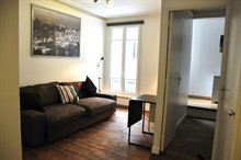 Short-term rental of a furnished apartment renovated in the Marais Paris 3rd