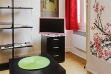Affordable holiday rental for 2 guests, rue Doudeauville Paris 18th