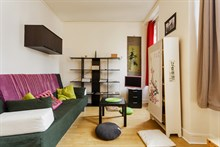 Weekly flat rental for 2, rue Doudeauville Paris 18th