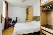 2-room accommodation for 2 in 15th arrondissement of Paris, Near Porte de Versailles