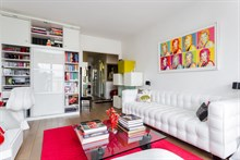 Romantic getaway in apartment for 2 with terrace, Near La Villette Paris 20th