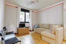 Luxurious Studio apartment for 2 guests short-term rent in Paris 14th, near Denfert Rochereau