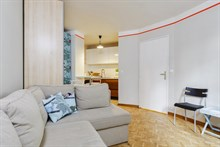 Distinctive Studio flat for 4 guests near Denfert Rochereau metro Paris 14th, short-term