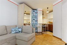 Spacious Studio, studio apartment near Denfert Rochereau in Paris 14th, short-term stays