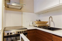 Turn-key studio apartment with terrace for long-term stays in France Paris 14th