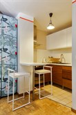 Furnished short-term studio apartment rental for language stays in Paris 14th near Denfert Rochereau Tower