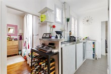 Monthly holiday rental of 2-room apartment near Père Lachaise and Bagnolet Paris 20th