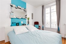 Long vacation stays for 2 guests in furnished apartment near Père Lachaise, Paris 20t