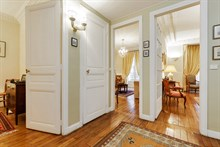 Luxurious 4-person, 1-bedroom apartment in Paris 16th, Passy Village