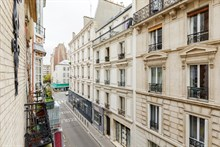 Modern, large apartment in Paris 16th arrondissement with 2 rooms near metro line 6, metro line 9 or RER