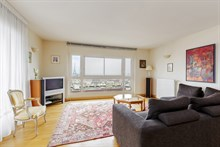 Lovely weekly flat rental for four, furnished, near Montparnasse Tower, Paris 15th