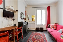 Charming 2 or 4 person apartment for rent, short-term near city attractions in Paris XX
