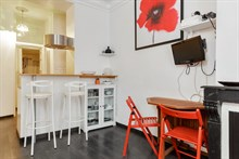 Modern 2-room apartment for monthly stays, near Père Lachaise and Gambette, Paris 20th