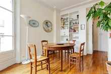 Fabulous weekly flat rental, furnished with 3 rooms in Commerce district, Paris 15th