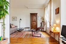 Temporary apartment rental, 3 rooms, perfect for 4 people in Commerce district, Paris 15th