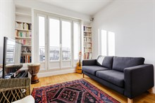 Luxurious 1-bedroom apartment with balcony in Paris 16th, near Village d'Auteuil