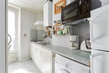 spacious apartment to rent for 4 on rue Hallé Paris 14th district