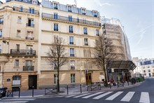 elegant apartment to rent short term for 4 rue Hallé Paris 14th