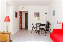 Furnished flat with 1 bedroom near Saint-Germain-des-Prés for month rentals in Paris 6th