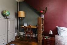 Turn-key apartment for 3 guests, walking distance to attractions, monthly rentals near Père Lachaise, 20th arrondissement of Paris