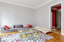 Turn-key apartment for 2 guests, walking distance to attractions, monthly rentals near Père Lachaise, 20th arrondissement of Paris