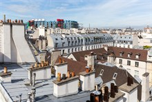 Studio flat rental for 2, short-term and fully furnished in le Marais, Paris 3rd