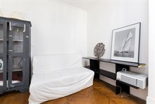 Charming 2 or 3-person apartment for rent, short-term near city attractions in Paris 17th