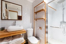 Short term studio apartment rental for singles or couples in Paris 6th, Saint-Germain-des-Pres