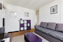 Holiday rental for families of 4 to 6 in flat near Paris in Issy-Les-Moulineaux