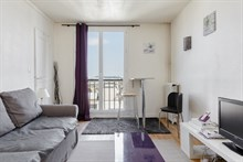 Apartment rental with city view in Issy Les Moulineaux near Paris near metro line 12