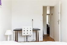 Short term apartment rental for 4 to 6 guests, wifi, TV, kitchen, near line 12 in Issy Les Moulineaux outside of Paris