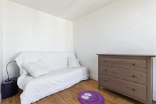 Modern flat for rent for families or friends, sleeps 4 or 6, 2 bedrooms near Paris at Issy Les Moulineaux